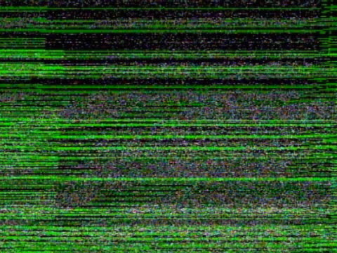 green lines flashing over black background - television static stock videos and b-roll footage