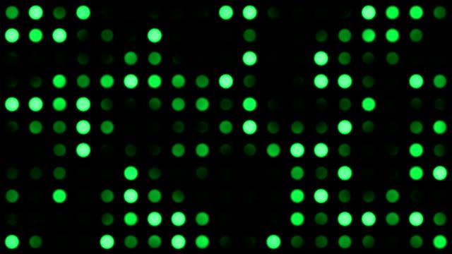 vídeos y material grabado en eventos de stock de monotone puntos de fondo de color verde - diseño natural