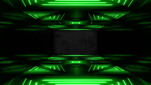 green neon led vj event concert title presentation music videos show party abstract loop - led stock videos & royalty-free footage