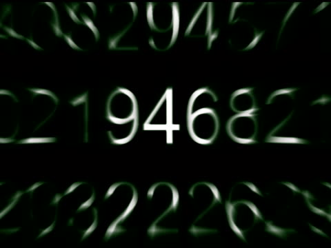 Green Numbers V.2 (DV)