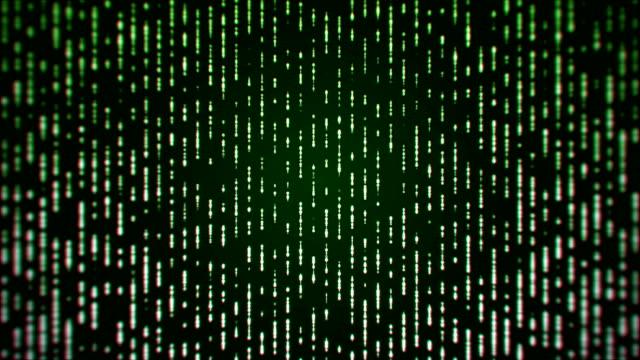 Grüne Partikel abstrakten Hintergrund (Endlos wiederholbar)