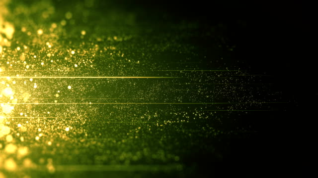 grön partiklar som rör sig horisontellt - slinga - ansvarsfullt företagande bildbanksvideor och videomaterial från bakom kulisserna