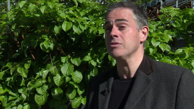 Green Party coleader Jonathan Bartley saying 'when people see the Greens can get elected they vote Green' before the local elections