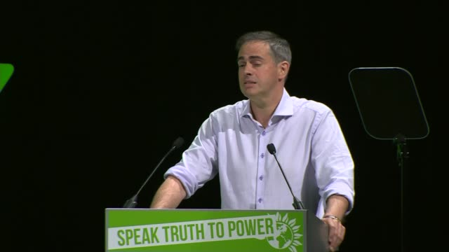 jonathan bartley speech jonathan bartley speech sot - green party stock videos and b-roll footage