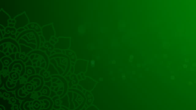 green ramadhan background - eid mubarak stock videos & royalty-free footage