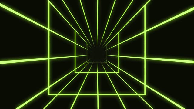 green sci fi futuristic glowing star squares with neon light lines seamless, beautiful abstract rectangle background, dj vj motion background, looped 3d animation art concept - rectangle stock videos & royalty-free footage
