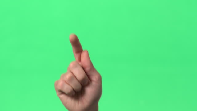 green screen - action of swiping image from side to side with index finger - finger stock videos & royalty-free footage