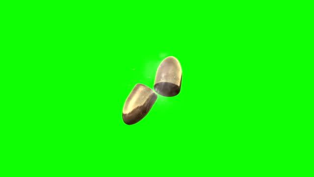 緑色の画面の項目 - ピストル点の映像素材/bロール