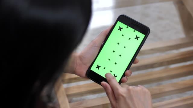 Écran vert poche Smartphone