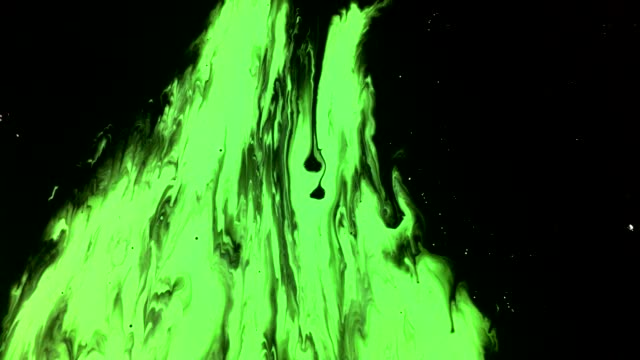 green screen ink background abstract transition stains and drops flows on black background - morphing stock videos & royalty-free footage
