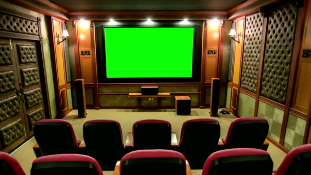 green screen movie theater - concert hall stock videos and b-roll footage
