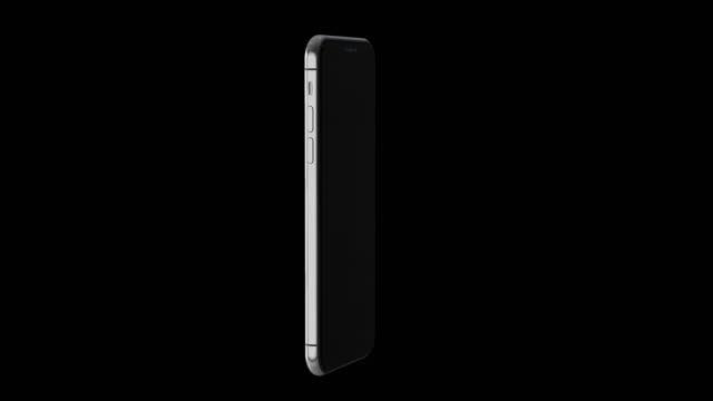 vídeos y material grabado en eventos de stock de pantalla verde 4k rotando la maqueta moderna del teléfono móvil inteligente con reflejos - plantilla producto de arte y artesanía
