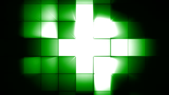 green square flash light - pulsating stock videos & royalty-free footage