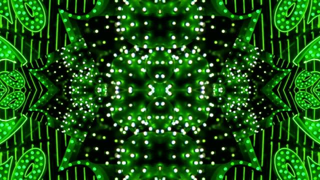 Green Starburst Neon Frame - Las Vegas, Nevada