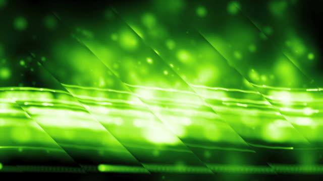 vídeos de stock, filmes e b-roll de raios verdes fundo de loop - squiggle