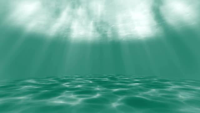 4k grün - unterwasser-animation - mariner lebensraum stock-videos und b-roll-filmmaterial
