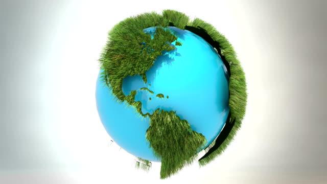 Green world - core blue