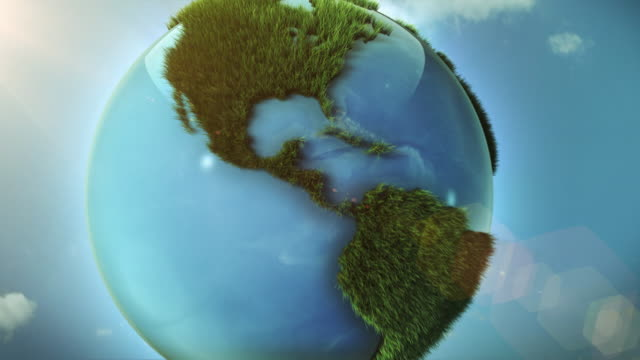 green world - green color stock videos & royalty-free footage