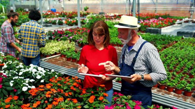 Greenhouse flower shop