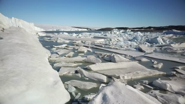 greenland ice sheet - ice stock videos & royalty-free footage