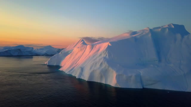 greenland iceberg - glacier stock videos & royalty-free footage