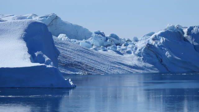 グリーンランドクジラの icewater - ザトウクジラ点の映像素材/bロール