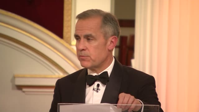 greenpeace protesters disrupt philip hammond's mansion house speech england london city of london mansion house int mark carney speech sot / carney... - lord mayor of london city of london stock videos & royalty-free footage