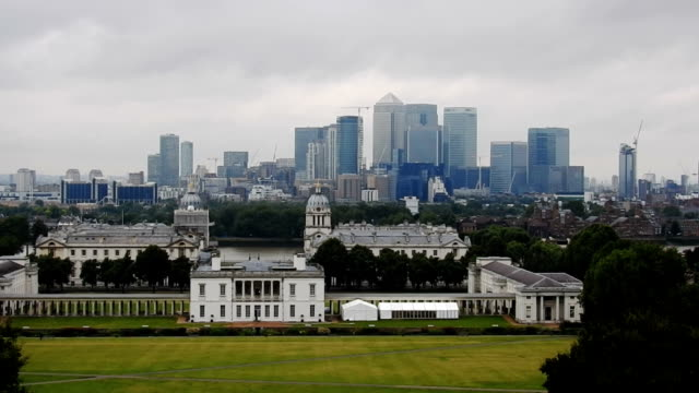 greenwich, london, time lapse - royal navy college greenwich stock videos & royalty-free footage