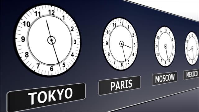 vídeos y material grabado en eventos de stock de greenwich tiempo en los distintos países - símbolo de la libra esterlina