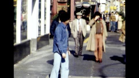greenwich village, new york city 1977 - greenwich village stock videos & royalty-free footage