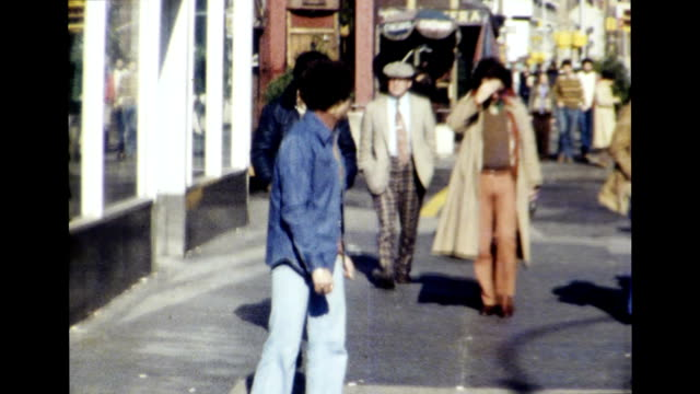 greenwich village, new york city 1977 - greenwich village stock videos & royalty-free footage