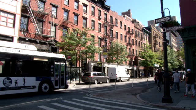 Greenwich Village NYC (West 8th Street) Old Style Brick Apartment Buildings