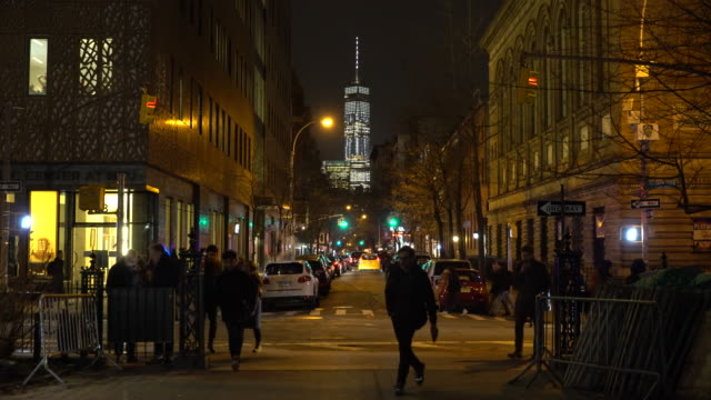 Greenwich Village NYC, One World Trade, People Out And About