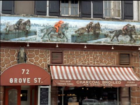 1961 Greenwich Village restaurant