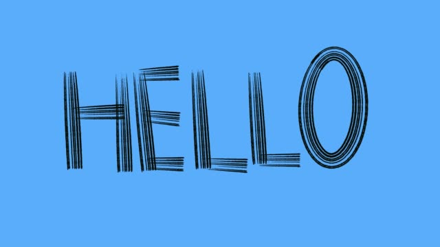 greeting graphic blue - poster template stock videos & royalty-free footage