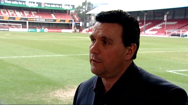 greg dyke appointed as new football association chairman mark devlin interview sot - greg dyke stock videos & royalty-free footage