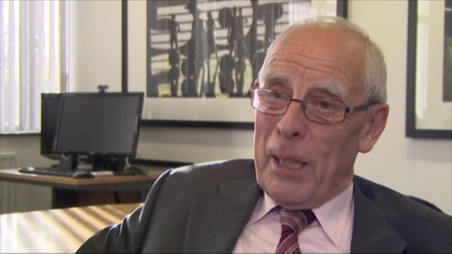 greg dyke wants premier league and championship sides to recruit more english players to boost national team england peter coates interview sot - greg dyke stock videos and b-roll footage