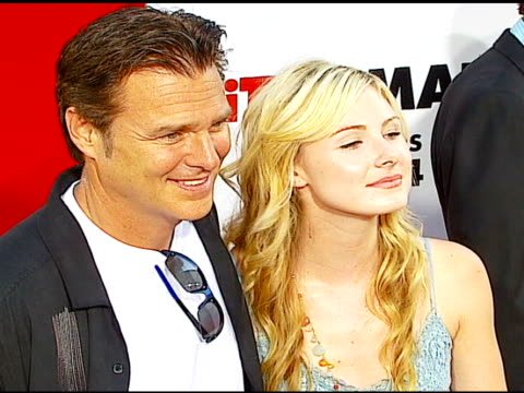 greg evigan and daughter vanessa at the 'little man' premiere at the mann national theatre in westwood california on july 6 2006 - mann national theater stock videos & royalty-free footage
