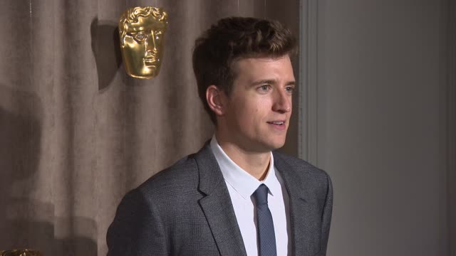 greg james at bafta breakthrough brits event at burberry on october 27 2014 in london england - greg james stock videos and b-roll footage
