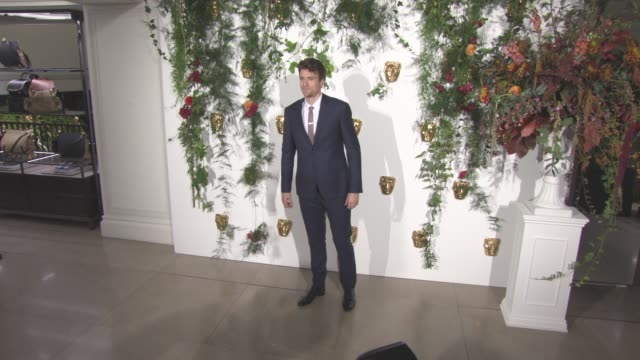 greg james at bafta breakthrough brits reception at burberry on october 25 2016 in london england - greg james stock videos and b-roll footage