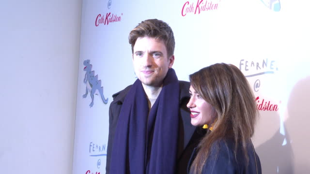 greg james at fearne cotton @ cath kidston launch event at vinyl factory @ phonica records on october 25 2018 in london england - greg james stock videos and b-roll footage