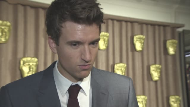 interview greg james on being the host for the evening the importance of the bafta breakthrough brits on nick grimshaw at bafta breakthrough brits at... - greg james stock videos and b-roll footage