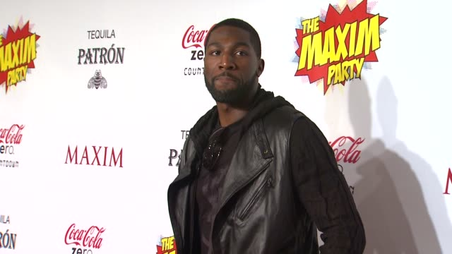 greg jennings at patron presents the maxim party featuring cocacola zero countdown with paul mitchell on 2/4/12 in indianapolis in - paul mitchell stock videos and b-roll footage