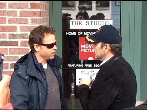 Greg Kinnear and Kevin Spacey in Park City Utah 01/25/11 at the Celebrity Sightings in Park City Utah at Park City UT