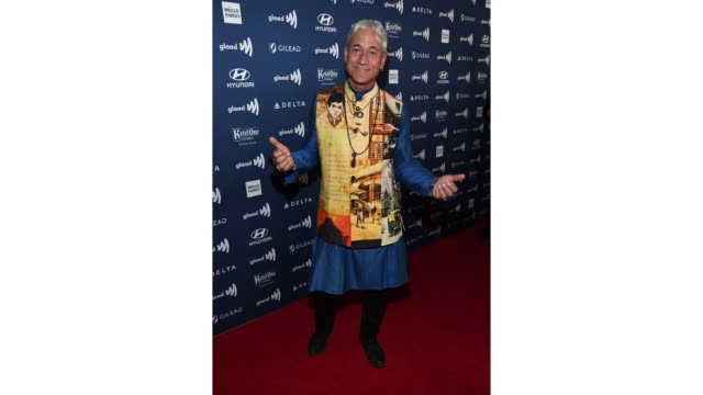 Greg Louganis attends the 30th Annual GLAAD Media Awards Los Angeles at The Beverly Hilton Hotel on March 28 2019 in Beverly Hills California