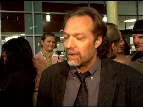 vídeos y material grabado en eventos de stock de greg nicotero on how excited he was when he won the oscar for chronicles of narnia, and how he started his career over 20 years ago at the fox... - arclight cinemas hollywood