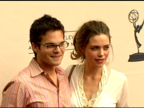 Greg Rikaart and Amelia Heinle at the 2006 Daytime Creative Arts Emmy Awards at the Grand Ballroom in Hollywood California on April 22 2006