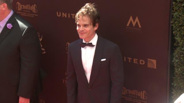 Greg Rikaart at 43rd Annual Daytime Emmy Awards at Westin Bonaventure Hotel on May 01 2016 in Los Angeles California