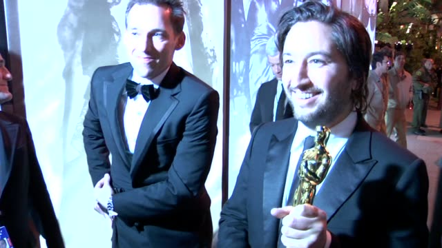 greg shapiro at the 2010 vanity fair oscar party hosted by graydon carter at west hollywood ca. - vanity fair oscar party stock videos & royalty-free footage