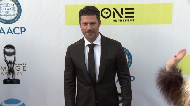 Greg Vaughan at 48th NAACP Image Awards at Pasadena Civic Auditorium on February 11 2017 in Pasadena California